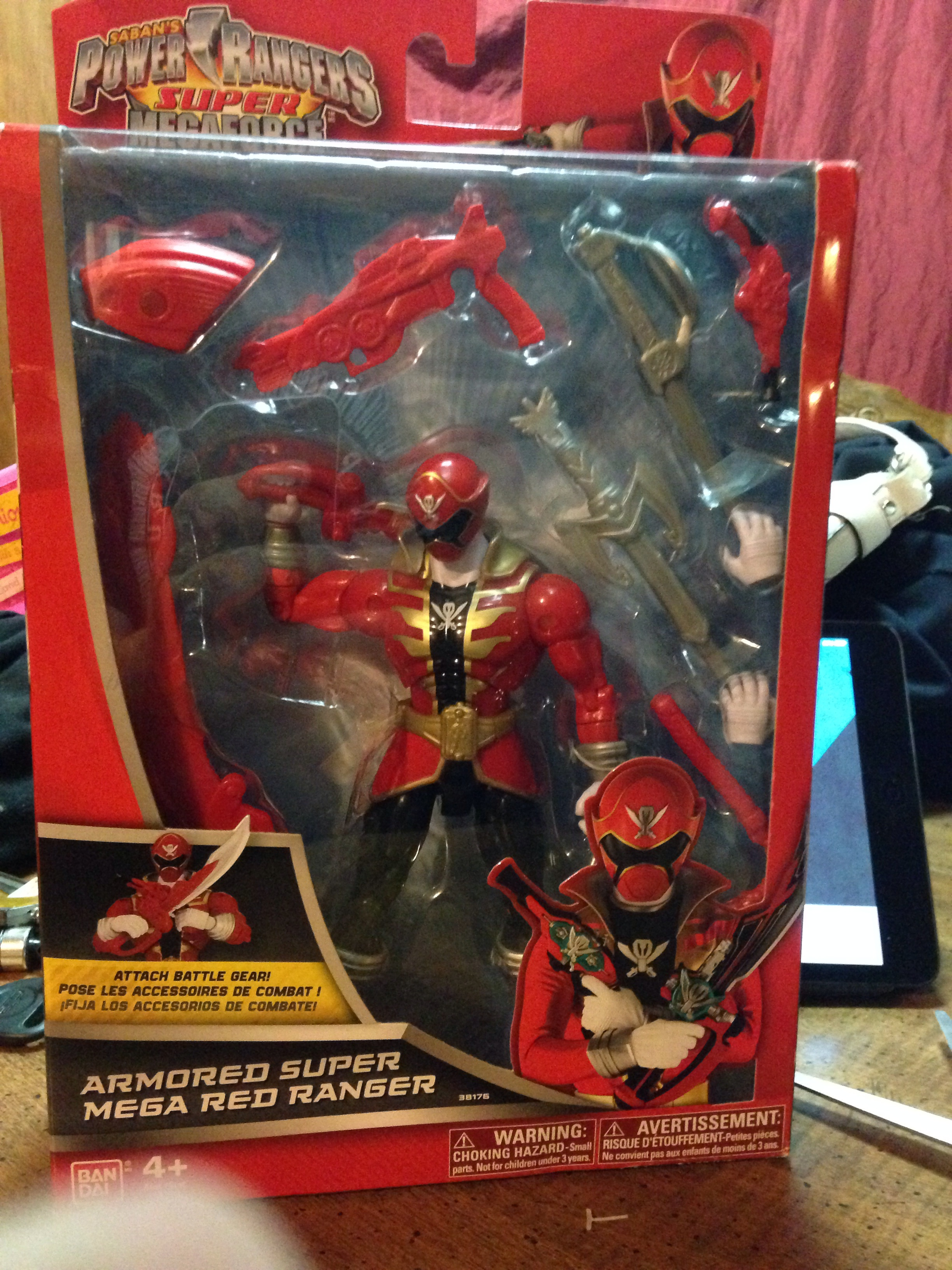 [TOYS]: Power Rangers Super Megaforce Armored Red Ranger ...