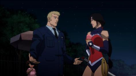 Wonder Woman & Steve Trevor