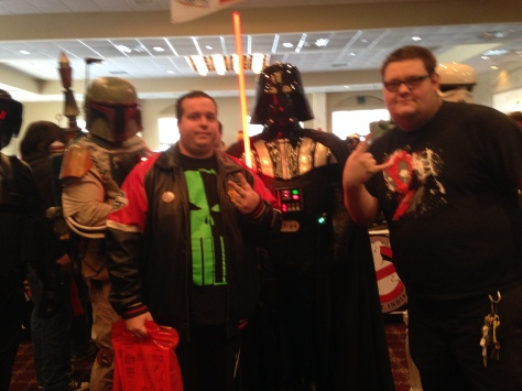 Big Rich & @johnolesen with the 501st