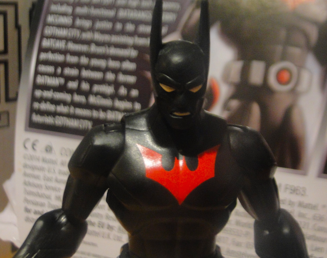 VIDEO: Total Heroes Ultra – BATMAN BEYOND (Mattel)